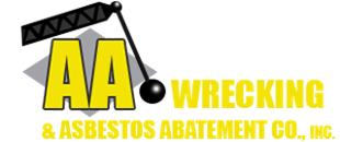 Logo, AA WRECKING & ASBESTOS ABATEMENT CO., INC. - Asbestos Removal